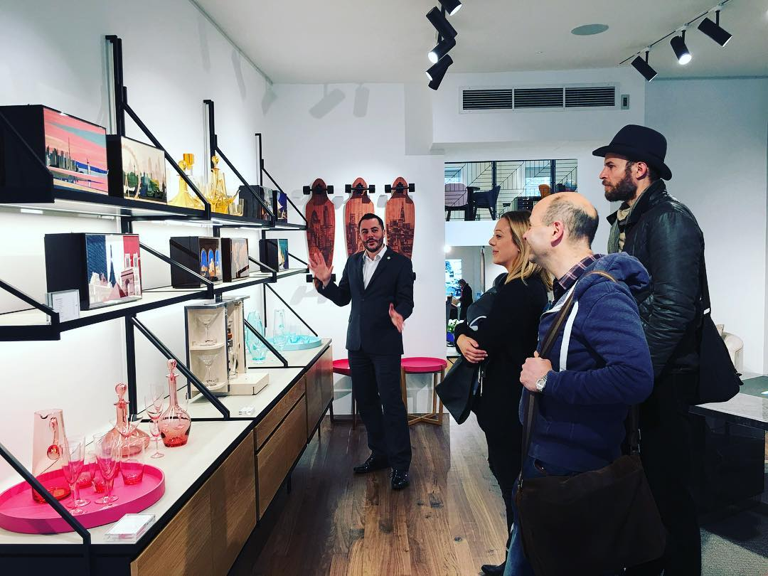 Many thanks to Gary Tiernan for the guided tour of Linley store in Belgravia. Our students really enjoyed the visit- Enlightening and inspiring! londoncraftweek