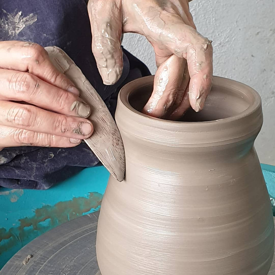 Pottery is  passion in motion!wheremagicishand