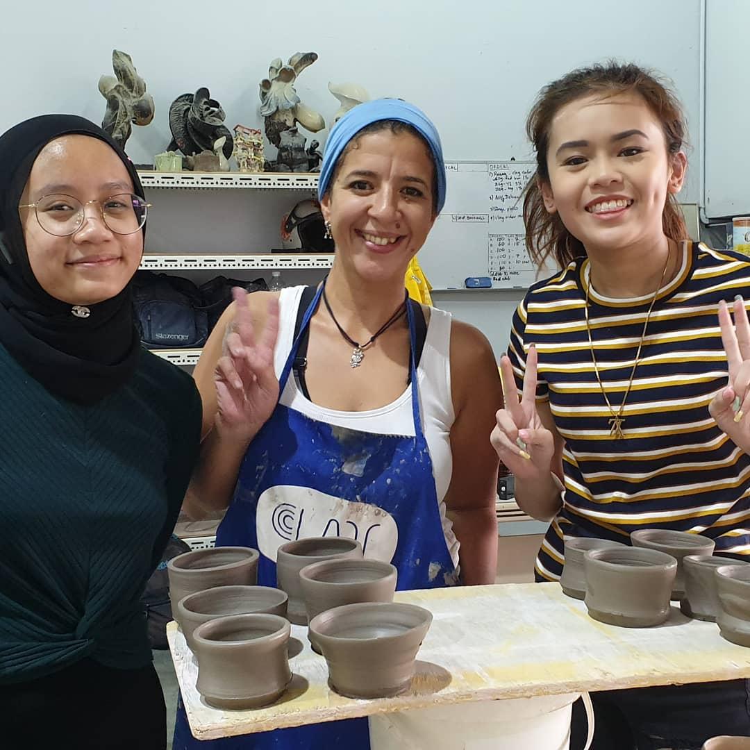 Happy potters!