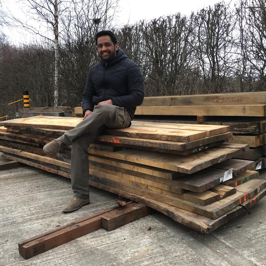 , and I have spent the day at the excellent sourcing this stack of quarter sawn oak as well as some maple, utile and a little bubinga.