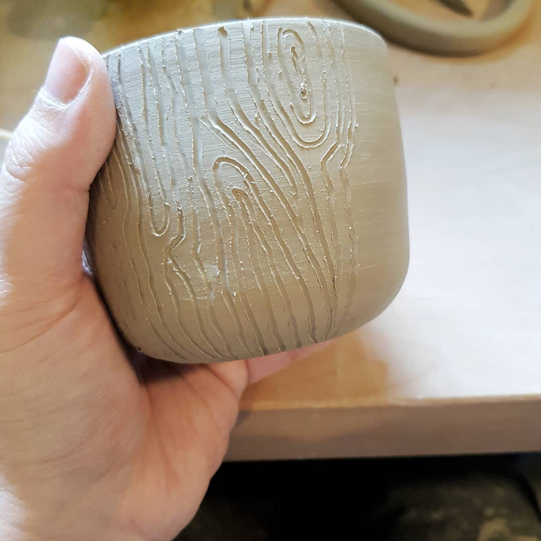 And I'm carving more wooden Log Lady mugs!lera