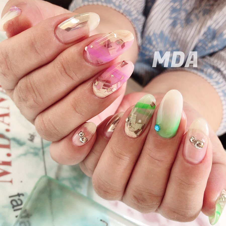 new! item ASIA NAIL fes.jewelry gem 2019  980 i recommend neon colors in 2019which color do you choose and combine!?the jewelry gem nail will be so active again this year!! online http:miroom.inrooms14UPLOADEDI have online lessons. there are a lot of tutorials on mda nail design.it's the official lesson of mda nail.please check the siteyou can change the languageto English, , , .https:miroom.inrooms14