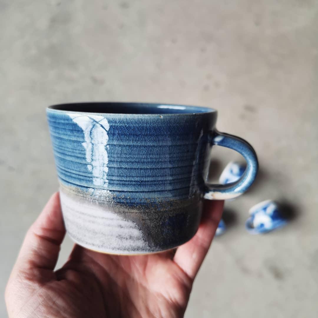 Blue is the warmest color!Kommer alltid tillbaka till den hr frgen, lite som att hitta hem....servingware