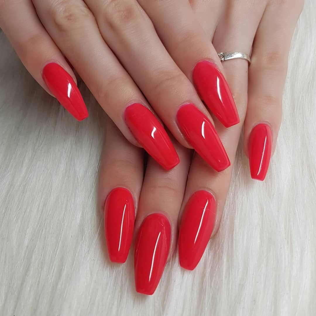 I am so in love with this amazing color  Nails made with gels From Hunks In Trunksnailgasm