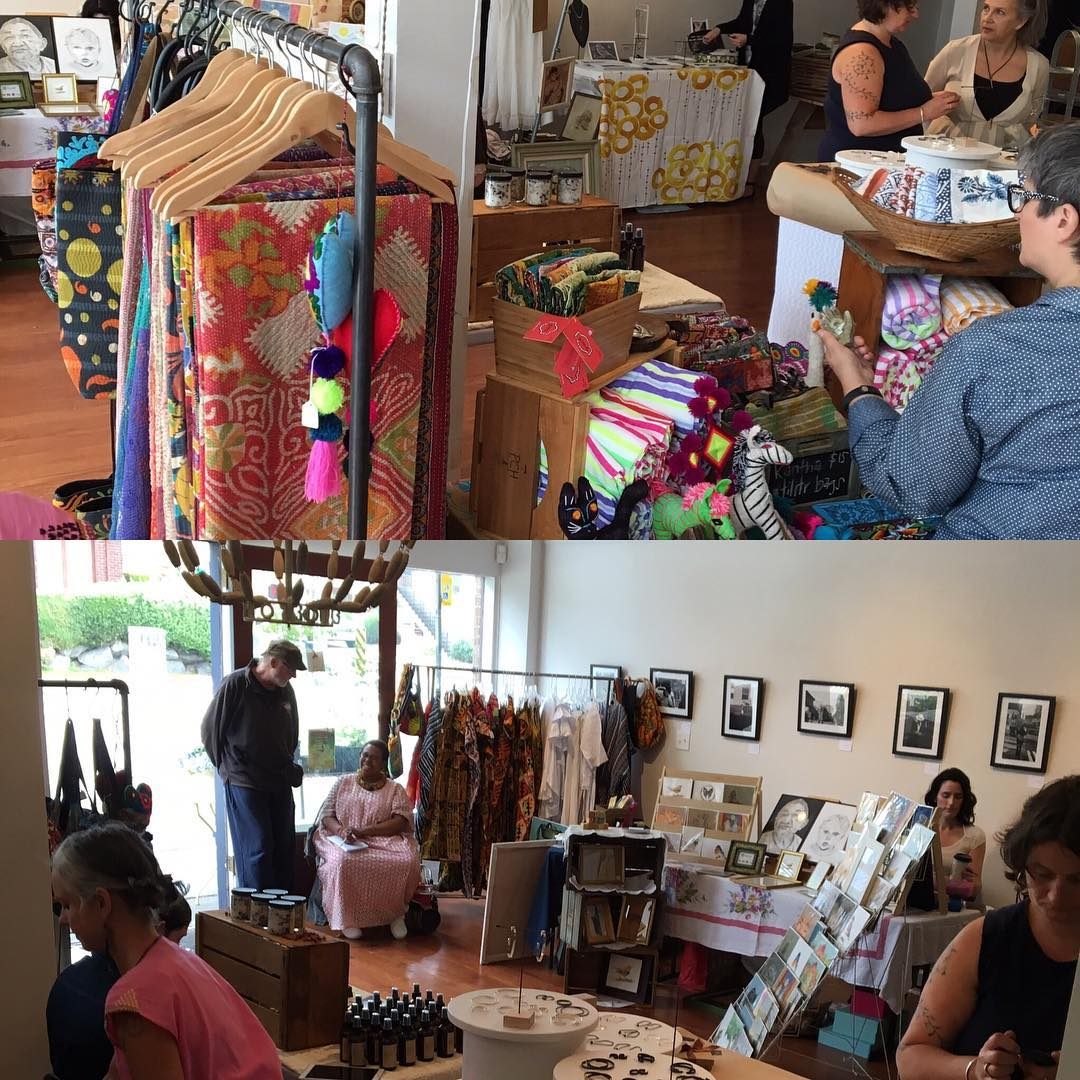 Thank you all for coming to this fun and great event! Thank you Mia and Wysdom for opening up your shop to us!