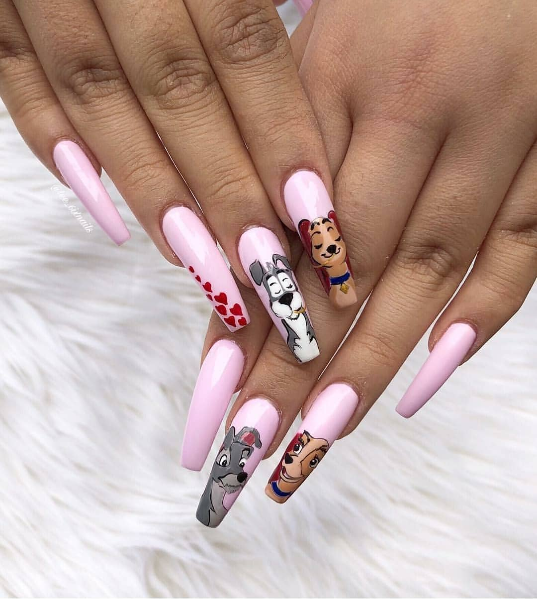 Lady and the Tramp!  by .....instanails