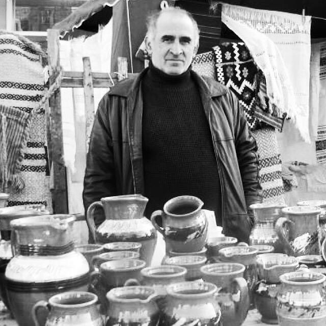 Husband and wife, Maricel  Maria Mocanu, are the only potters left in the south-east Moldova region. The clay pots that form in Maricels hands are made using traditional techniques passed down for generations. With your help and support, we aim to recruit and develop new relationships with more artisans from across Romania, showcasing their work and bringing you new, beautiful pieces to cherish for years to come. .. ... . potterslife