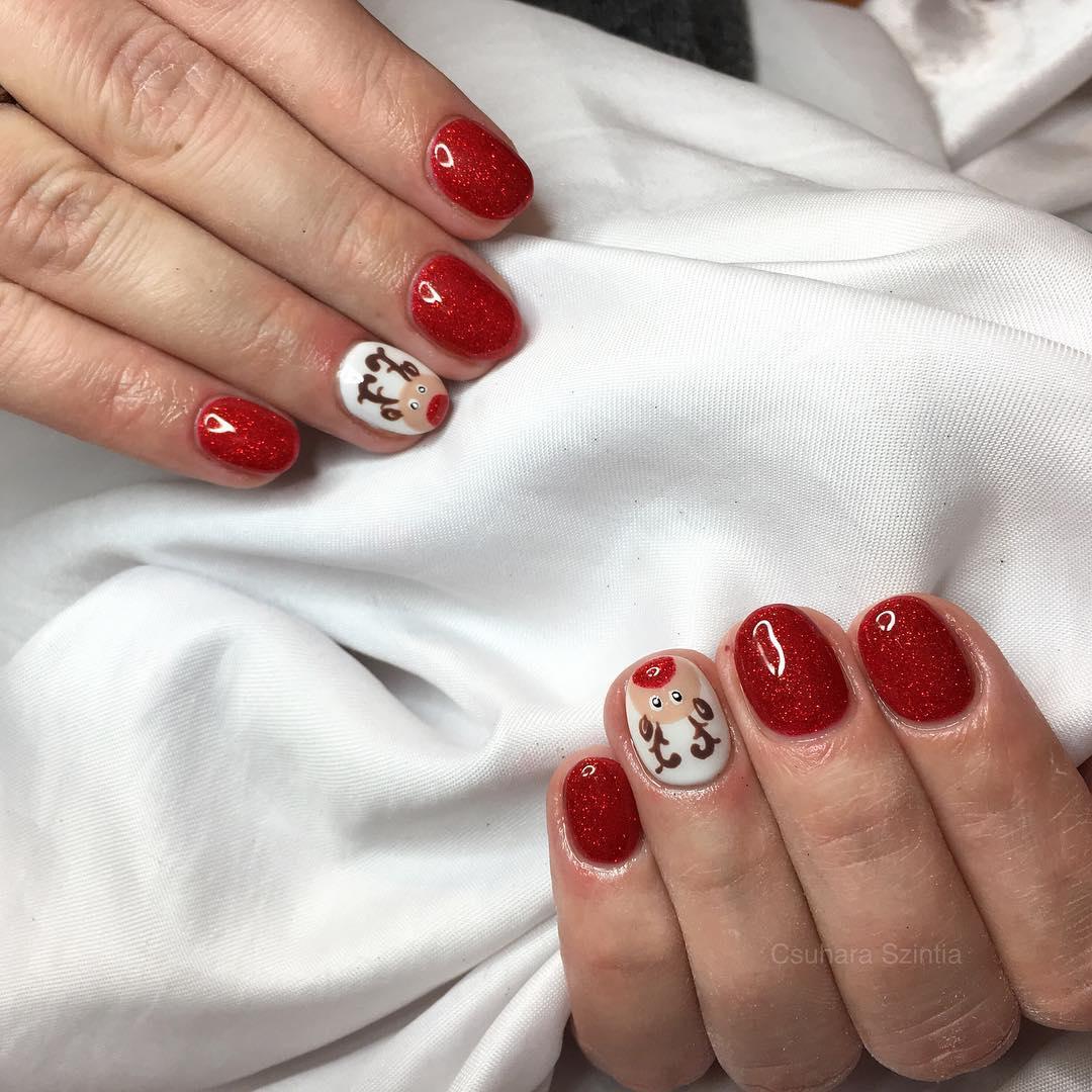 Mini zsel nailsart