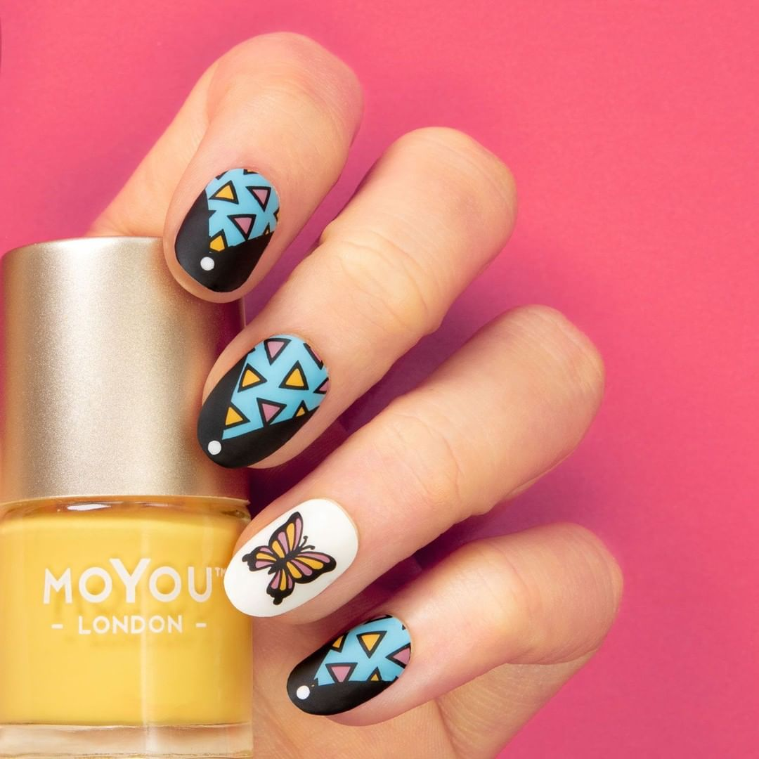 Calling all s!! Do you feel that? Like you have butterflies in your stomach... Is it love? No, it's nailart! at 30% OFF!!! Use code: EGG30  nailguru