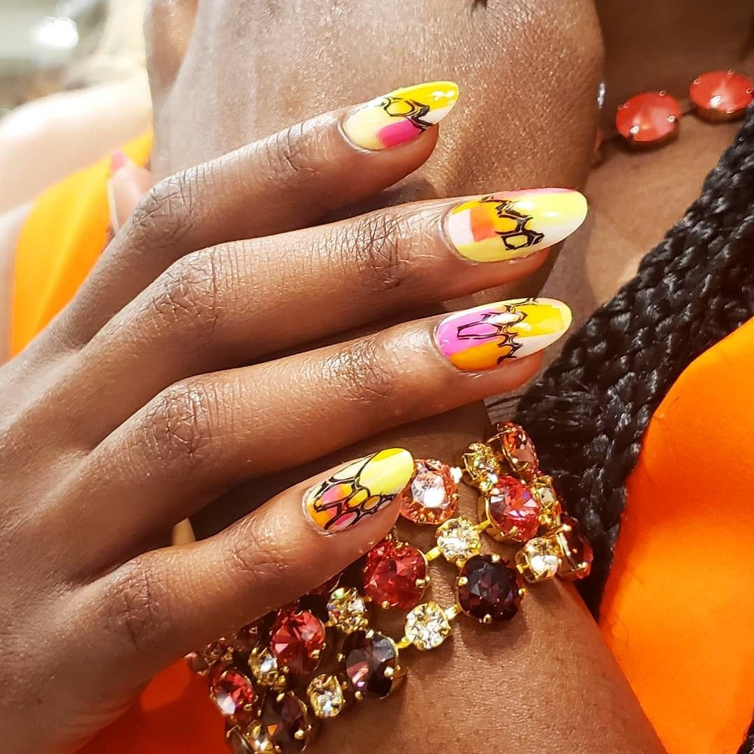 created these for but we want them off the runway and on our nails ASAP.