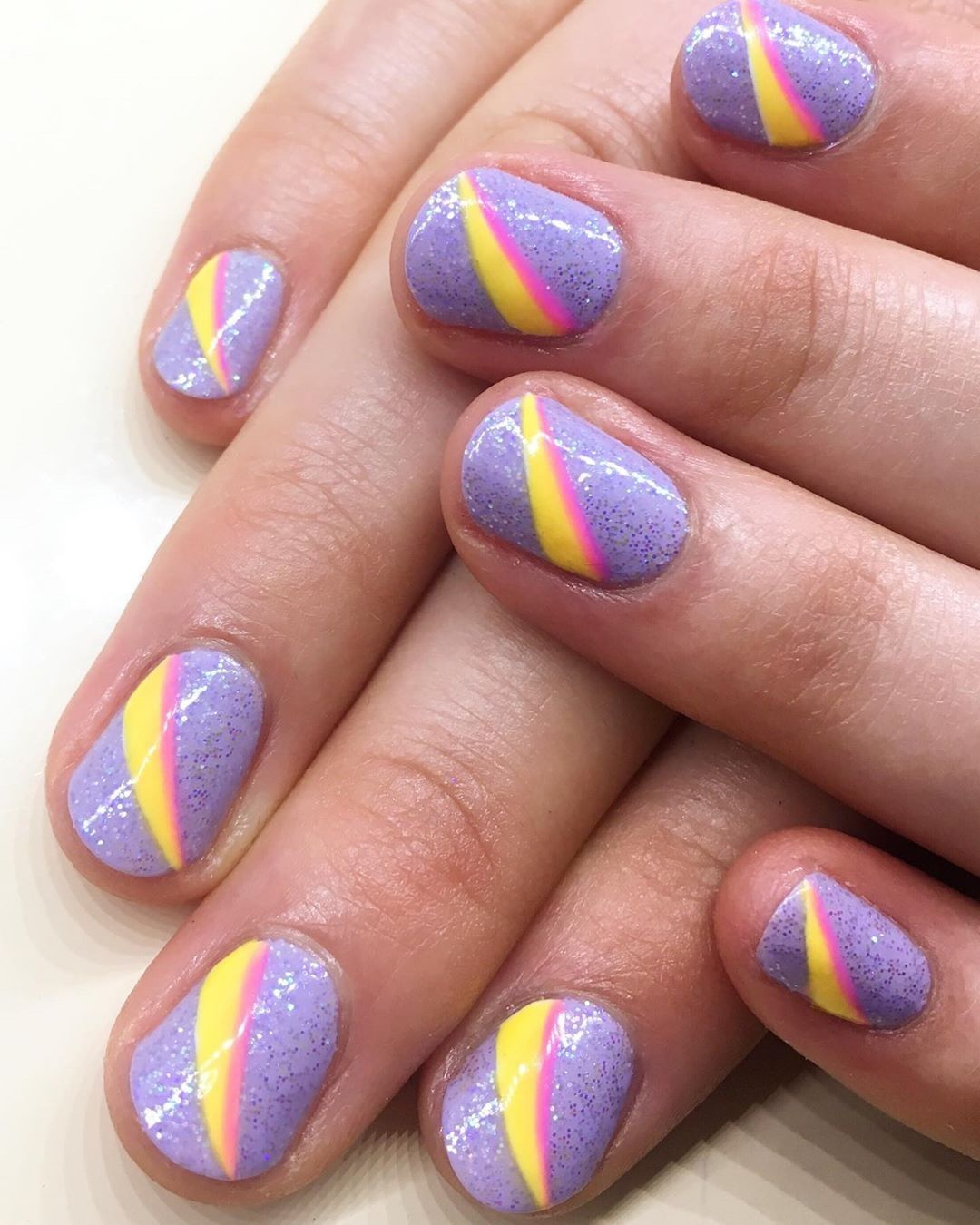 A new idea for your Easter manicure  rg  Shade: Gummi