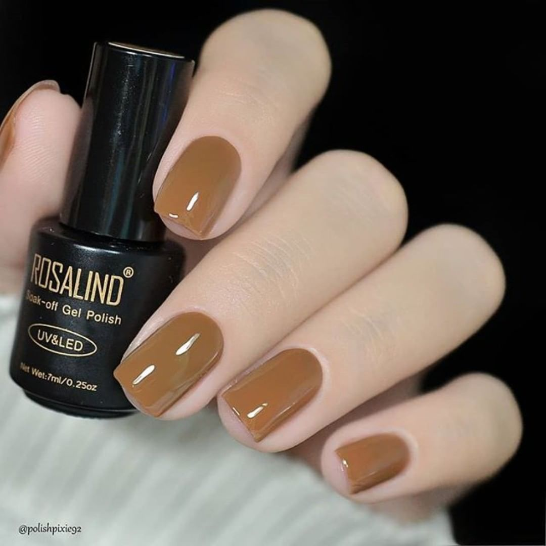 Will you try this brown color?Rosalind No.2660.Via brownnails