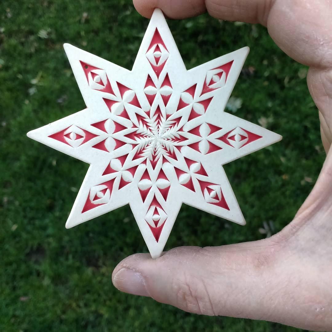 Another sweet star, www.etsy.comshopStandhardtStudio snowflake
