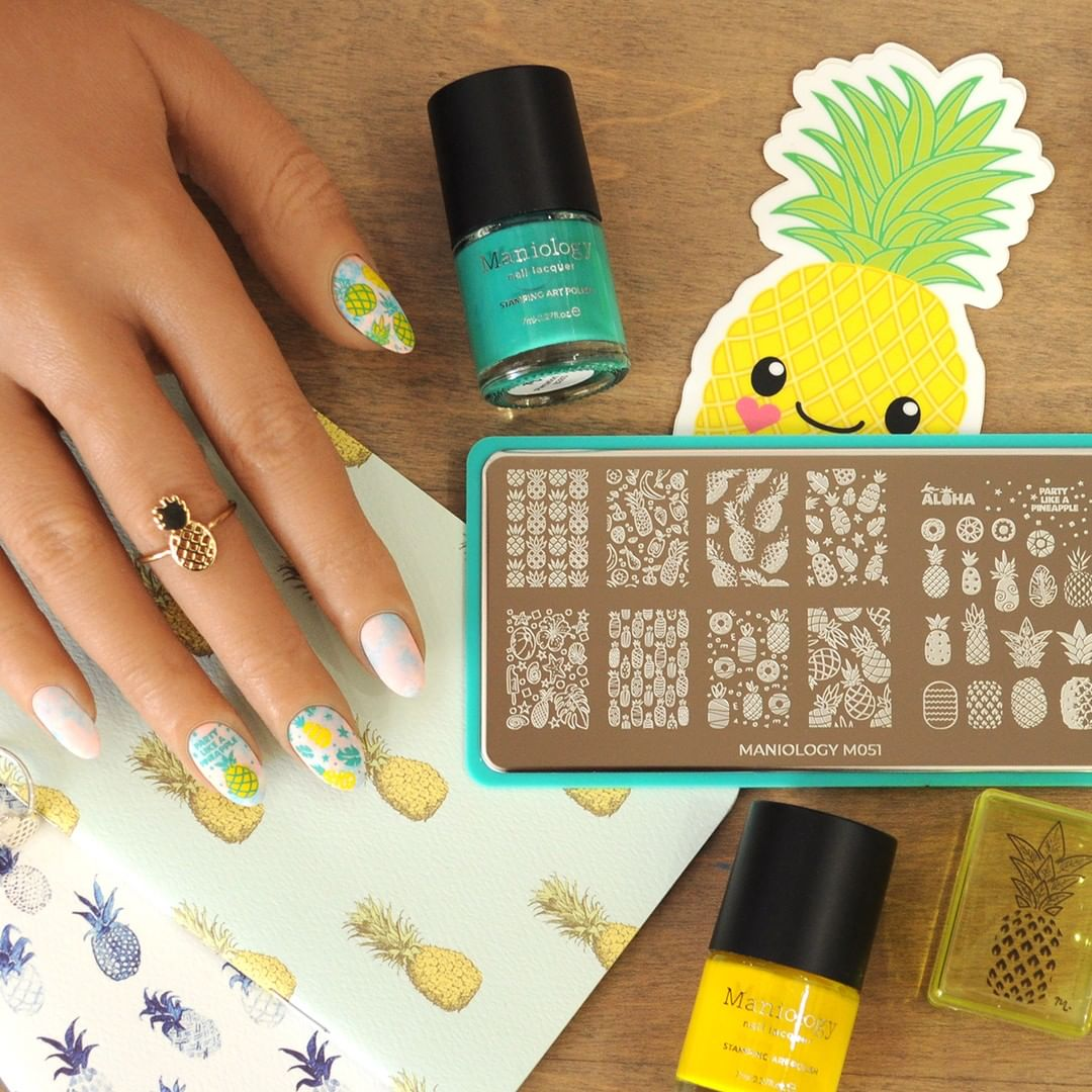 Umm, new summer outfit? Yes, plz. has tons of options for the perfect pairing to your new Pineapple Whip manicure. pineapple