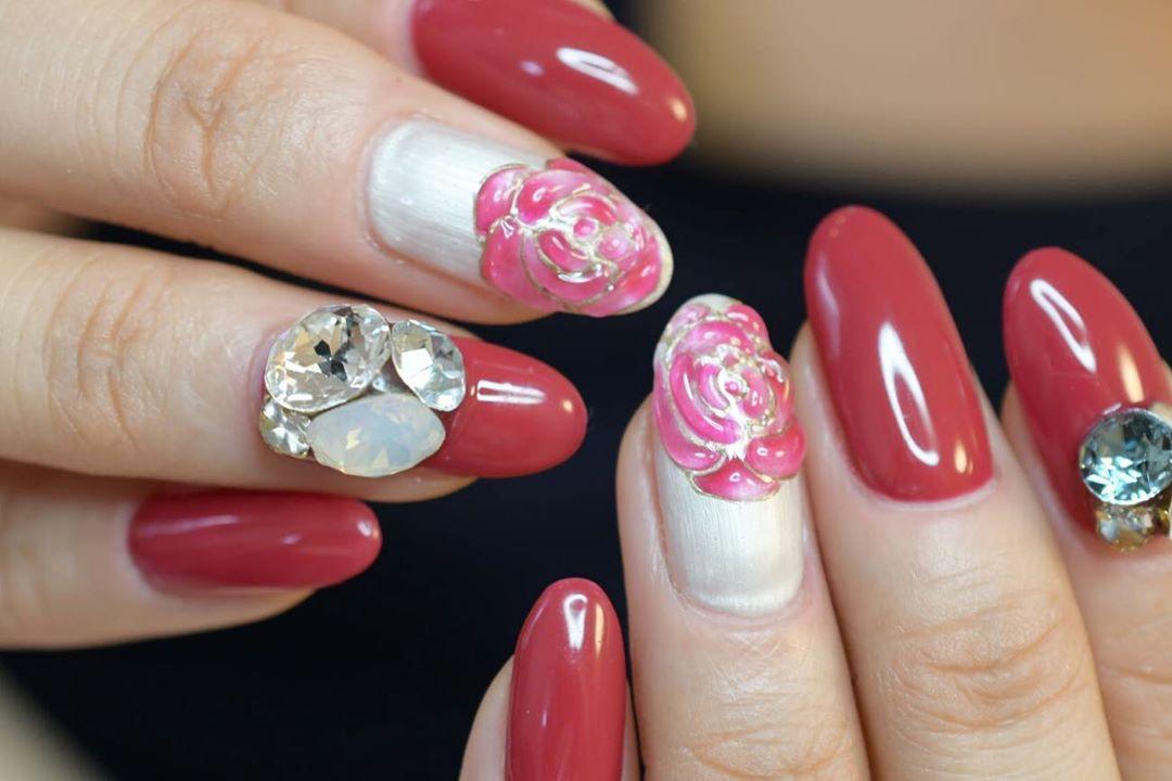 ..7CADENAS nail eyelash  LINE:cadenas tel:06-4792-8617.cadenas.nail. rose