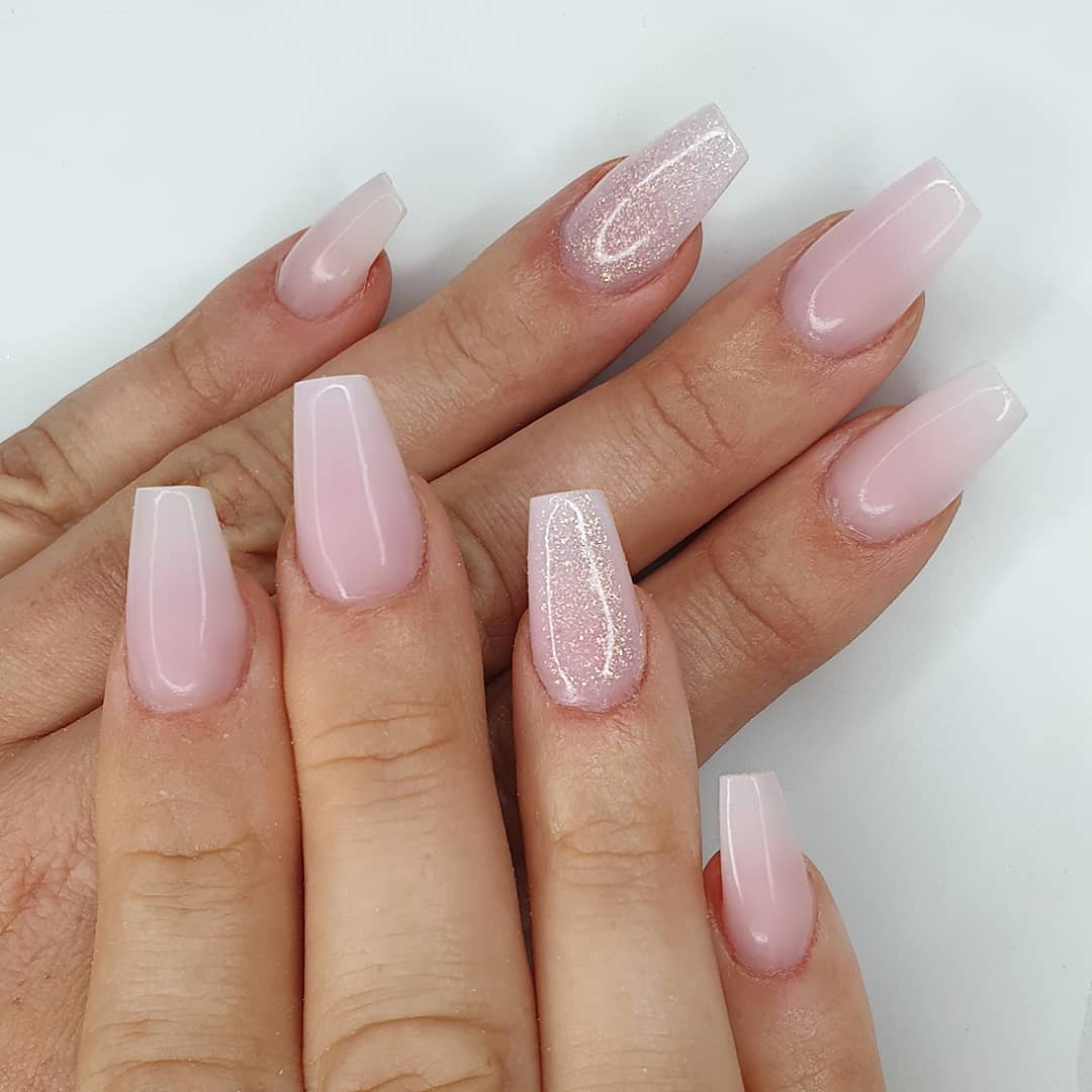 Simplicity at its best Using amor, milky pink, negligee  I do.Finished with melonmania cuticle oil shabaawards