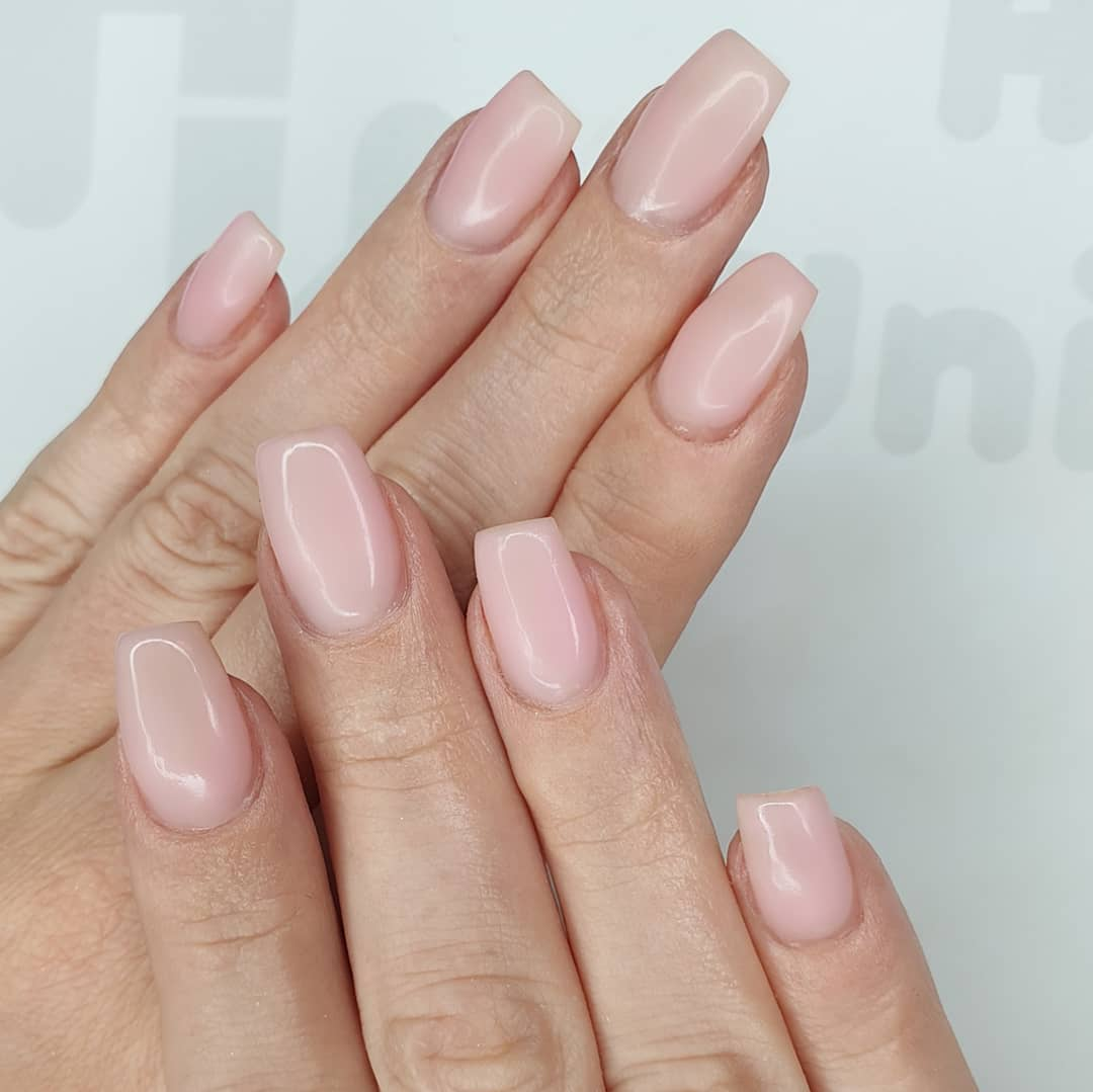 Natural beauties Using All About That Base and Tack Free Top Coat Finished with melonmania cuticle oil shabaawards