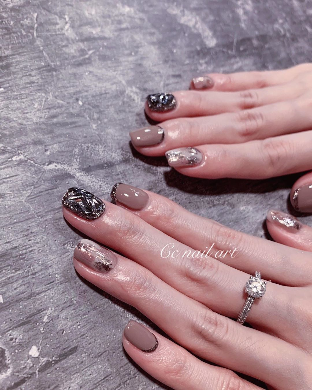 (10)106Nails by  cc zhang (or):106Line ID(+Fb:C.c_nail