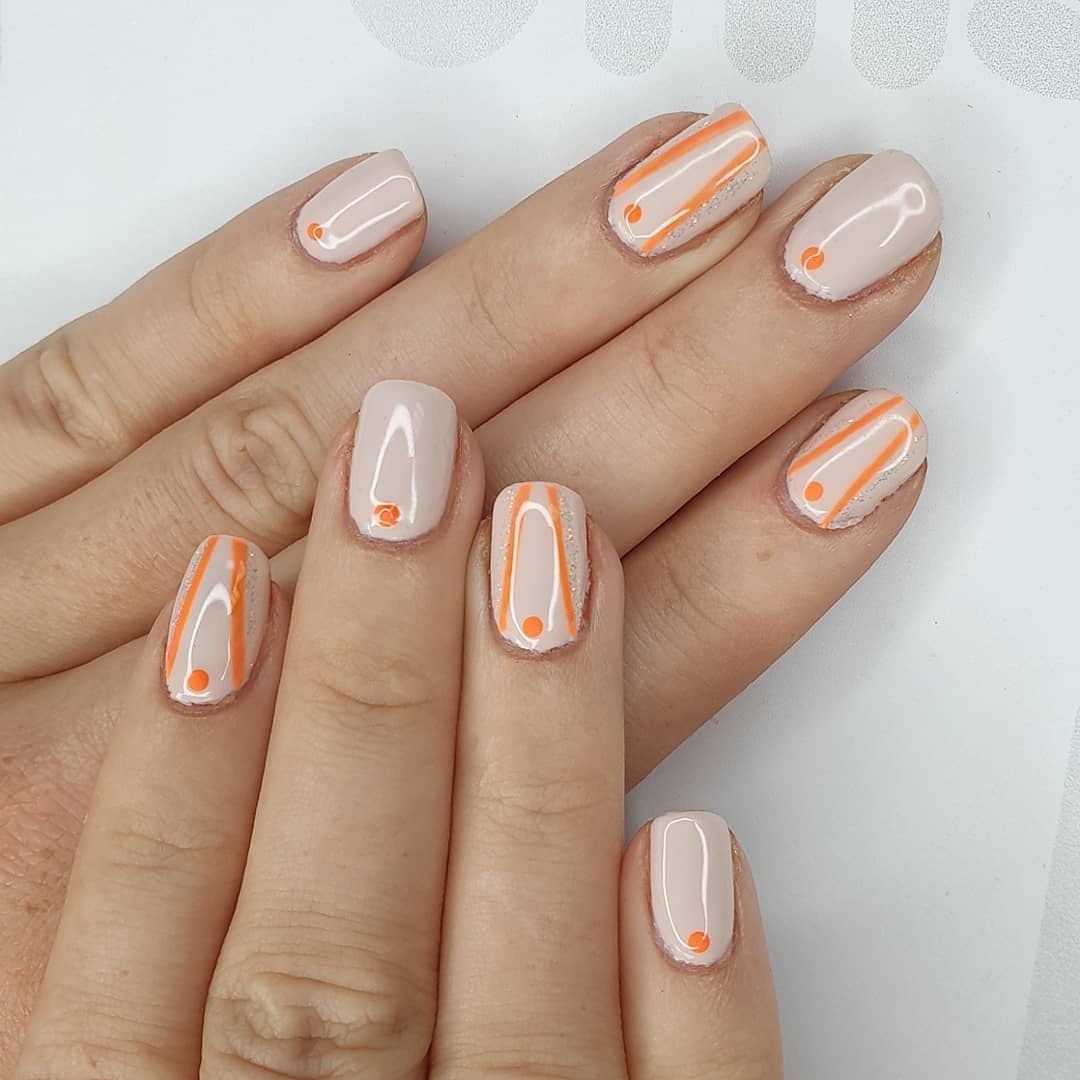 Abstract vibes Using gel polish and finished with melonmania cuticle oil shabaawards