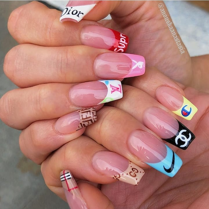 Brand Bae  Which is your favorite? Nails by  nailpro