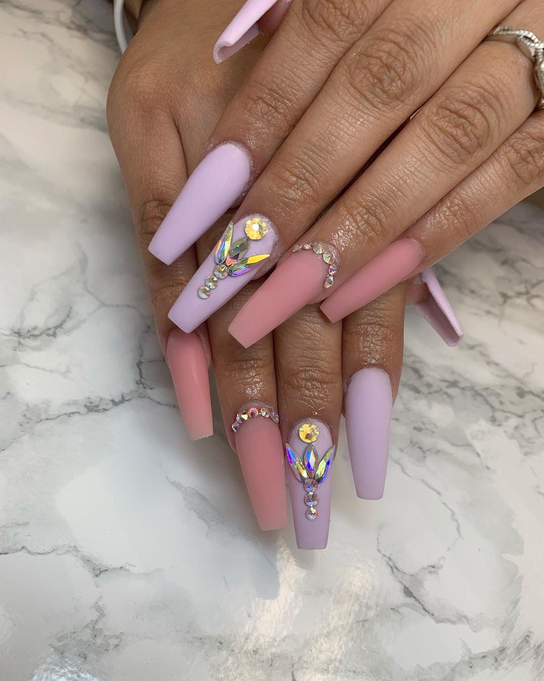 All matte  nailsaddict
