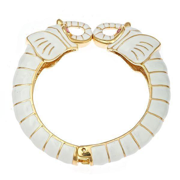 Safari Elephant Bracelet   Fornash